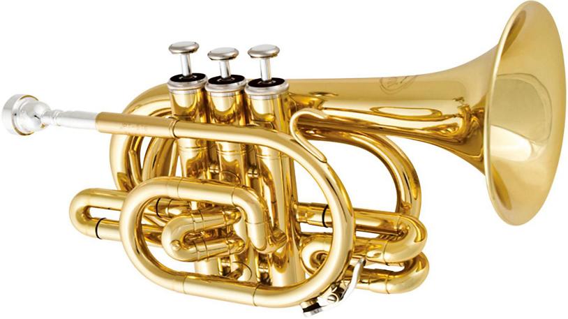 Jupiter JTR710 Series Bb Pocket Trumpet - Lacquer - Long ...