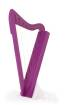Harpsicle - Harpsicle 26-string Harp - Purple