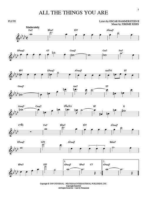 Hal Leonard 101 Jazz Songs For Flute - Book - Long ...