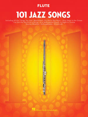 101 Jazz Songs for Flute - Book