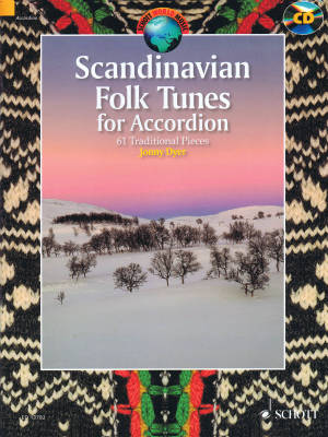 Scandinavian Folk Tunes for Accordion - Dyer - Book/CD