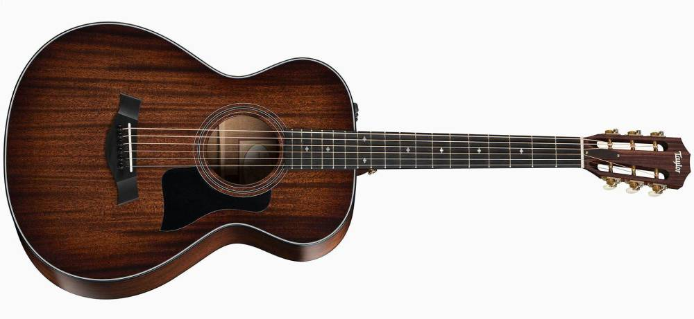 taylor guitars grand concert 12 fret acoustic guitar w es2 long mcquade musical instruments. Black Bedroom Furniture Sets. Home Design Ideas
