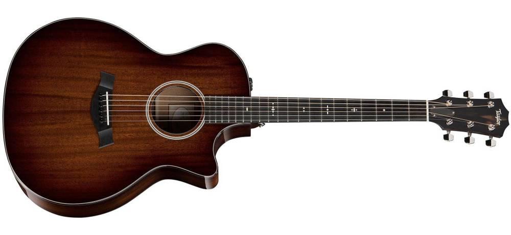 taylor guitars grand auditorium acoustic electric w cutaway long mcquade musical instruments. Black Bedroom Furniture Sets. Home Design Ideas