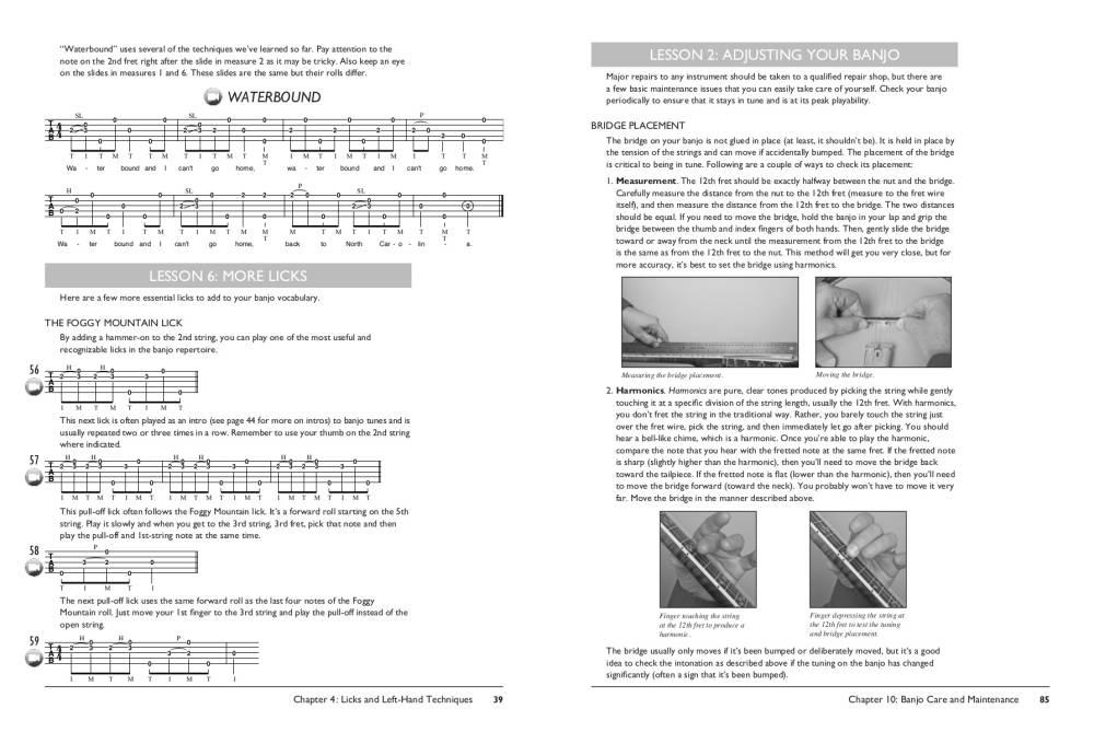 The Complete 5-String Banjo Method: Beginning Banjo - Luberecki -  Book/DVD/Audio & Video Online
