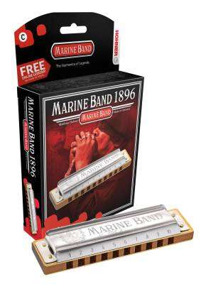 Marine Band Harmonica -  Key Of Eb