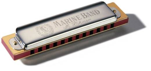 Marine Band Harmonica (12 Hole)  - Key Of G