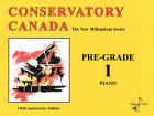 Conservatory Canada - The New Millennium Series - Pre-Grade 1 - Piano - Book