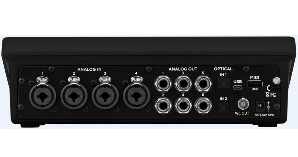 avid pro tools quartet usb audio interface w 1 yr subscription long mcquade musical instruments. Black Bedroom Furniture Sets. Home Design Ideas