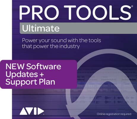 Pro Tools Ultimate 1-Year Software Updates & Support Plan