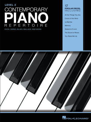 Contemporary Piano Repertoire, Level 2 - Book