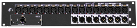 Mini Stagebox 16 (2U) with Cat5/MADI