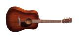 Martin Guitars - Dreadnought Solid Mahogany Acoustic Guitar w/Case