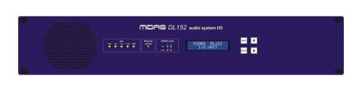 DL151 24-Input Stagebox with MIDAS Mic Preamps and Dual-Redundant AES50 Networking