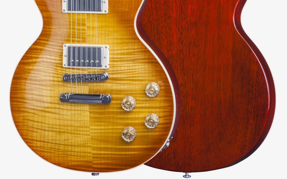 gibson 2016 les paul standard hp light burst long mcquade musical instruments. Black Bedroom Furniture Sets. Home Design Ideas