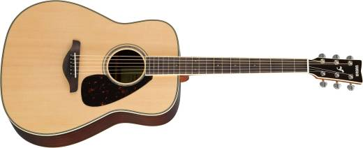 FG Series Solid Spruce Top Acoustic Guitar - Natural Finish