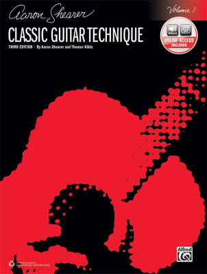 Classic Guitar Technique, Volume 1 (3rd Edition) - Shearer/Kikta - Guitar - Book/Audio Online