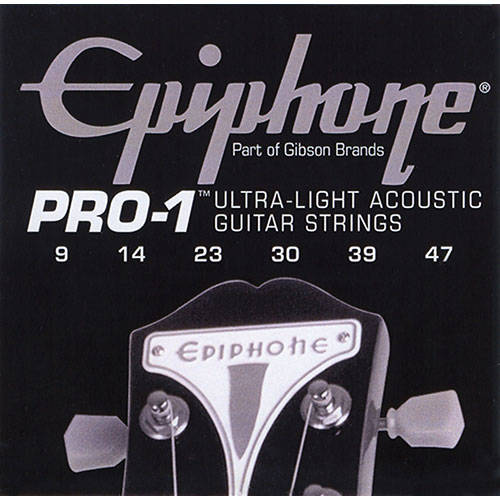 Epiphone Pro 1 Acoustic String 9 47 Long Amp Mcquade