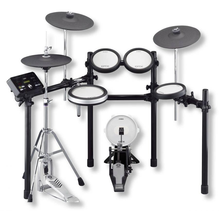 Yamaha dtx562k 5 piece electronic drum kit kp100 kick for Yamaha dtx pad set
