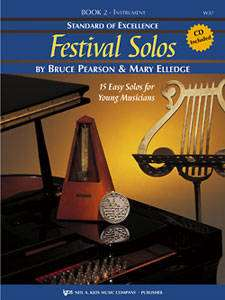 Standard of Excellence: Festival Solos, Book 2 - Pearson/Elledge - French Horn - Book/CD
