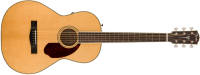 Fender - PM-2 Standard Parlor Acoustic Guitar w/ Rosewood Fingerboard - Natural