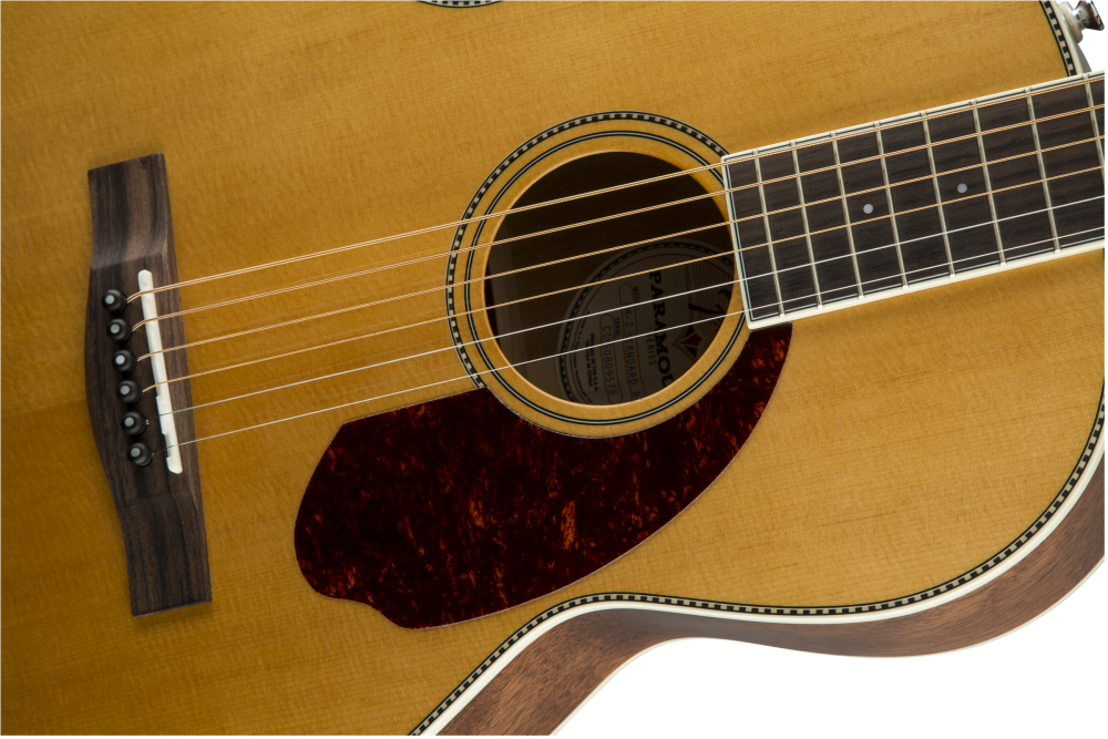 ... PM-2 Standard Parlor Acoustic Guitar w/ Rosewood Fingerboard - Natural  ...