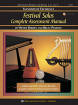 Kjos Music - Standard of Excellence: Festival Solos Complete Assessment Manual - Pearson/Barden - Book