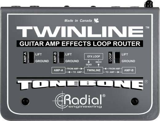 Twinline Effects Loop Router