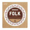 DAddario - EJ32C Folk Nylon Ball End Classical Strings - Silver Wound/Clear Nylon