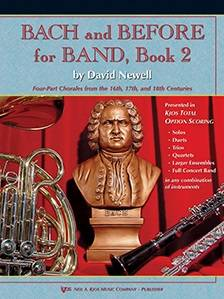 Bach and Before for Band, Book 2 - Newell - Mallet Percussion - Book