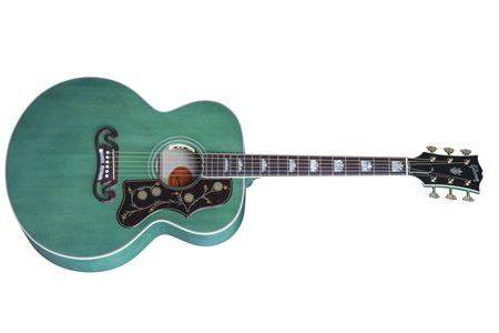 Gibson Sj 200 Sea Green Ltd Long Mcquade Musical Instruments
