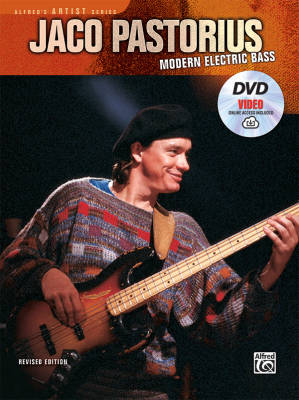 Jaco Pastorius: Modern Electric Bass - Book/DVD/Video Online