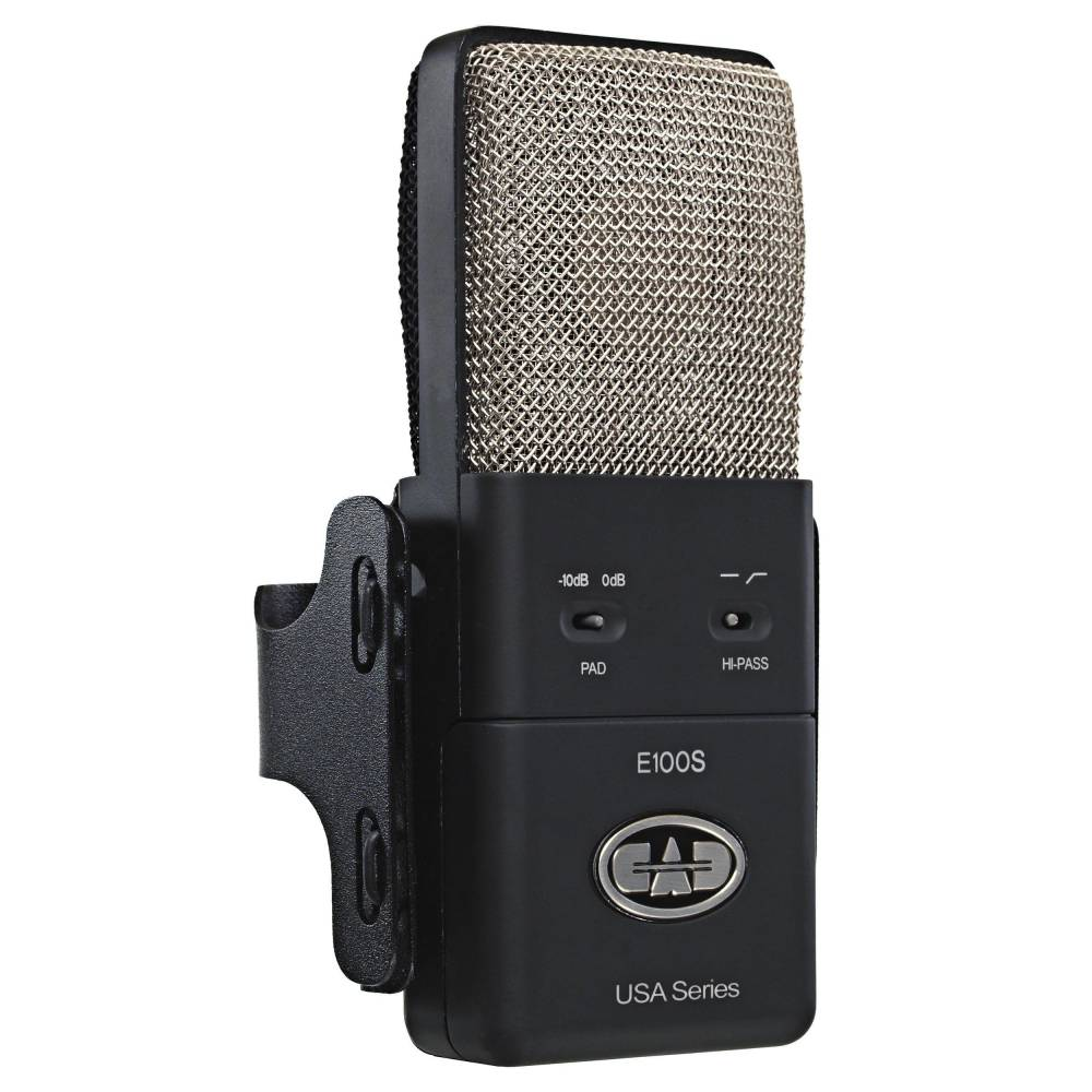 Cad Audio Large Diaphragm Supercardioid Condenser Microphone Long Details About New U87 Type Circuit Case Shock