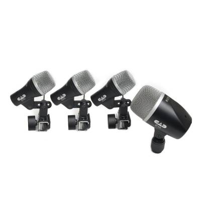 4-Piece Drum Microphone Pack
