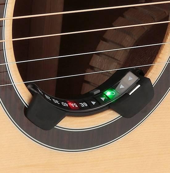 korg rimpitch soundhole acoustic guitar tuner long mcquade musical instruments. Black Bedroom Furniture Sets. Home Design Ideas