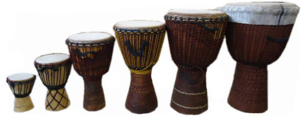 African Drums Djembe Large