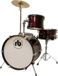 Westbury - RB 3-Piece Junior Drum Kit with Cymbals, Hardware & Throne - Red