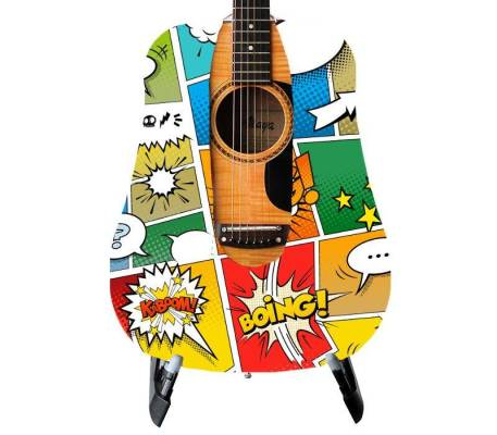 Comic Strip Guitar Skin