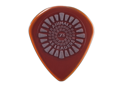 Animals as Leaders Primetone Picks .73mm - Brown, 3 Pack