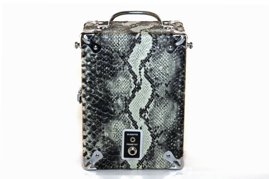 pignose 7 100 portable amplifier special snakeskin edition long mcquade musical instruments. Black Bedroom Furniture Sets. Home Design Ideas
