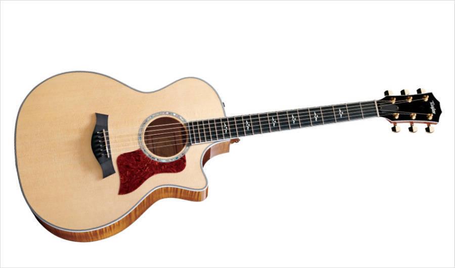 taylor guitars 614ce grand auditorium spruce maple acoustic electric long mcquade musical. Black Bedroom Furniture Sets. Home Design Ideas