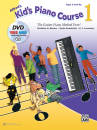 Alfred Publishing - Alfreds Kids Piano Course 1 - Bardon /Kowalchyk /Lancaster - Piano - Book/DVD/Media Online