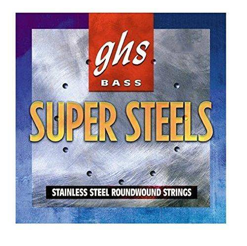 ghs strings bass super steels 5 string set medium light 36 5 39 39 winding long mcquade. Black Bedroom Furniture Sets. Home Design Ideas