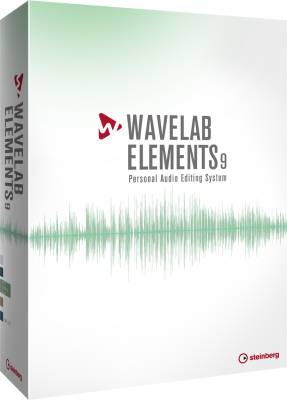 Wavelab Elements 9 Personal Audio Editing Software