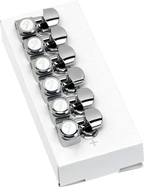 Fender Locking Tuners >> Fender Musical Instruments Locking Tuners For Strat Tele Polished Chrome