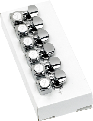 Locking Tuners for Strat/Tele - Polished Chrome