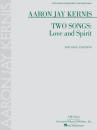 Hal Leonard - Two Songs: Love and Spirit - Kernis - Voice/Piano - Book