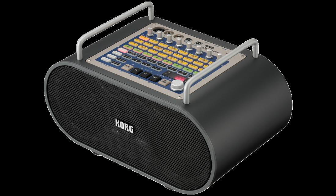 Korg - Stageman 80 Multi-Function Portable PA Amp