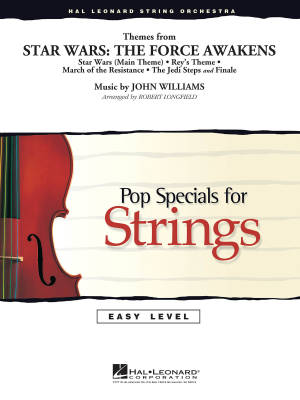 Themes from Star Wars: The Force Awakens - Williams/Longfield - String Orchestra - Gr. 2-3