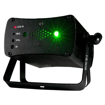 Micro 3D II Laser w/Red and Green Beams and Remote