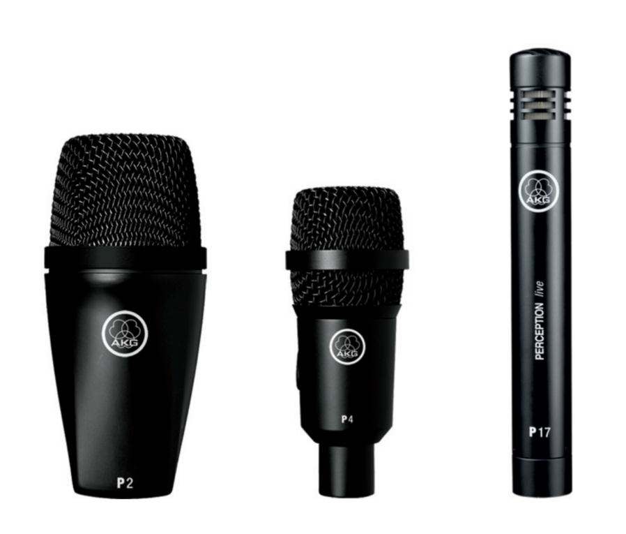 akg drum set session 1 high performance microphone set 1xp2 2xp17 4xp4 long mcquade. Black Bedroom Furniture Sets. Home Design Ideas